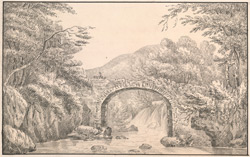 Bridge over the River at Inverary, Argyleshire